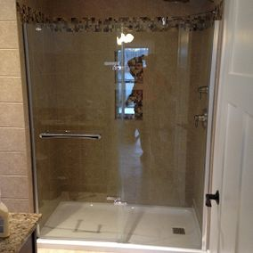Luxury shower renovation